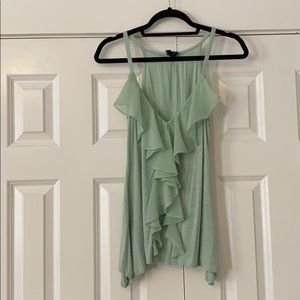 Anthropologie mint top size small